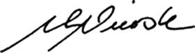 Unterschrift Dr. Nierste